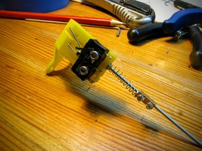 Z-Probe for Kossel fan holder by marbalon