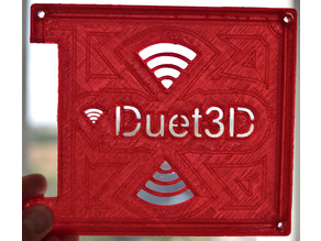 Duet Wifi Enclosure with large fan