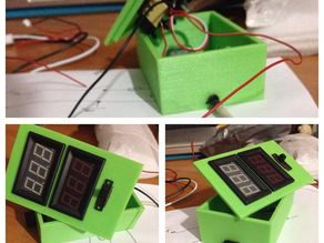Ammeter And Voltmeter Case for USB devices