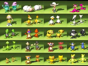 20 Funny Figurines