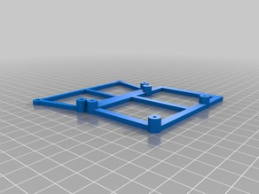Anet A8 Rumba Board Mount with dual Mosfet and Raspberry PI