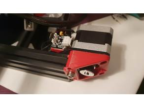 Ender 2 3 Y Axis Belt pulley holder and limit switch holder