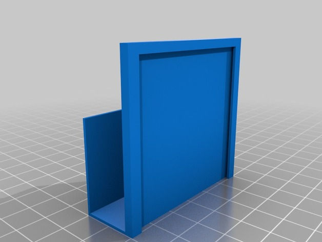 Porte etiquette pour meuble classeur by seb69 thingiverse for Meuble classeur