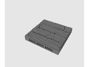 2x2 Wood Plank Floor 1
