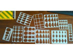 Lapidary Cabachon Templates
