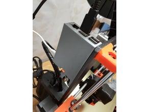 Raspberry Pi 3 case, slightly customizable (open SCAD)
