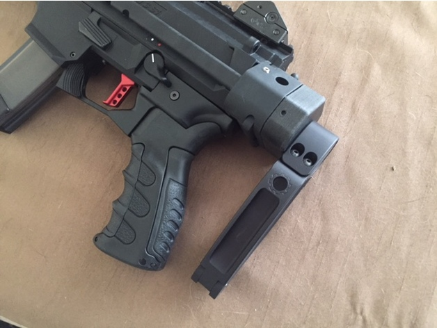 Wrex Wtf Adapter For Manitcore Arms Scorpion Evo