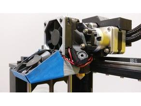 Makergear M2 Dual Extruder Fan Shroud