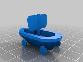 Vikking boats (drakkar)