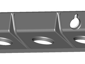 Modular SK20 Tool Fitting Wall Mount