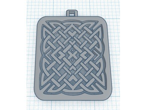 Another Celtic Knot Pendant or Keychain