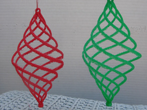 Helical Holiday Ornament