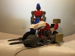 GoBots Cy-Kill model, based on the Monogram 1/12 model kit