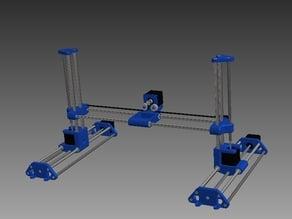 Proto3DC- Convertible printer