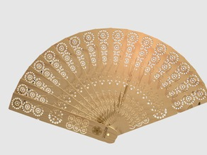 Andalusian Hand Fan - Abanico Andaluz
