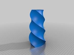 Customizable Reuleaux Triangle Vase
