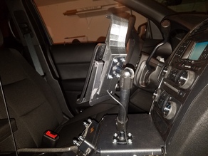 HP Touchpad Charging Vehicle Mount