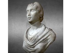 Bust of antonine woman