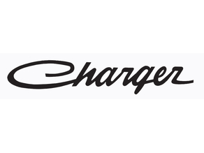 Old style Charger badge