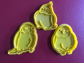 鸚鵡餅乾模Parrot cookie cutter