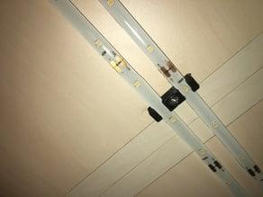 Double LED Strip holder