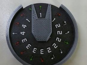 X-Wing Miniatures: Maneuver Dial Case