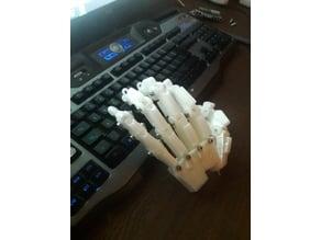 HUMAN SCALE HUMANOID ROBOT HANDS