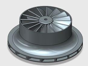 Impeller for centrifugal compressor