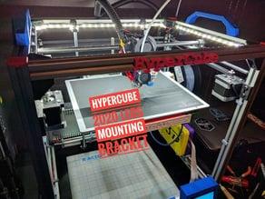 Hypercube 2020 LED mounting brackets