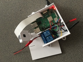 Raspberry Pi and 2-Ch Relay Case