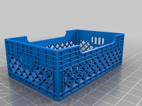 Crate for business cards