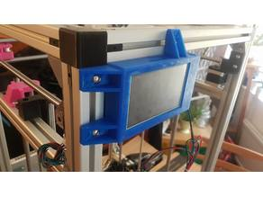 Hypercube Duet panel 4.3 inch holder