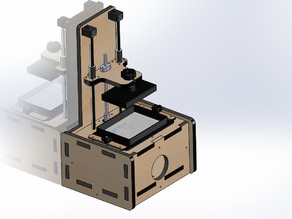 High Resolution DLP Printer