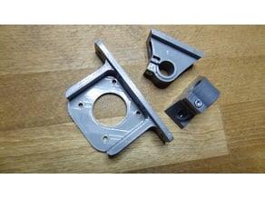 Ultimaker Aluminium Extrusion Motorhalter Motormount extra strong