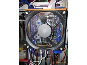 MKS GEN V1.4 holder - profile 3030, fan 120mm - V2