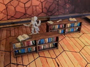 Bookcases for Gloomhaven (Remix)
