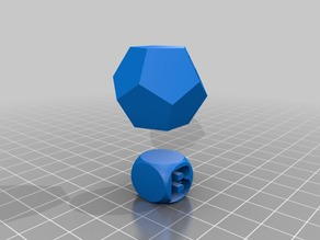 Dodecahedron dice