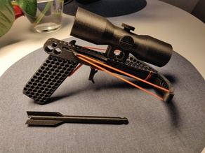 The Coolest Crossbow - with Scope!