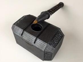Bic Cristal Pen Thor's Hammer (Mjolnir)