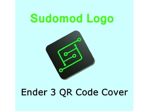 Sudomod Creality Ender 3 QR Code Cover