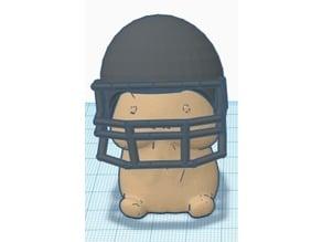 Ding Ding Football Helmet
