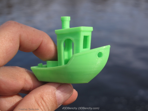 3DBenchy - The jolly 3D printing torture-test by CreativeTools se by
