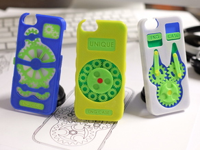 Eng Case - Phone Case With Working Gears
