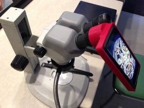 iPhone 6 microscope adaptor