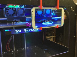 Galaxy Note 2 Phoneholder for CTC 3D Printer