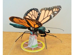 Stand for Octozero's Articulated Monarch Butterfly