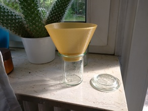 Weck Jar Funnel / Weck-Glas Trichter
