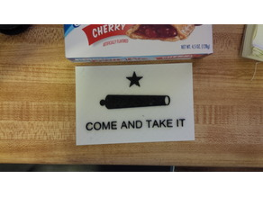 Gonzales Flag, Come and Take It