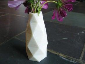 Faceted Vase 4