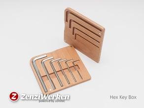 Hex Key Box cnc